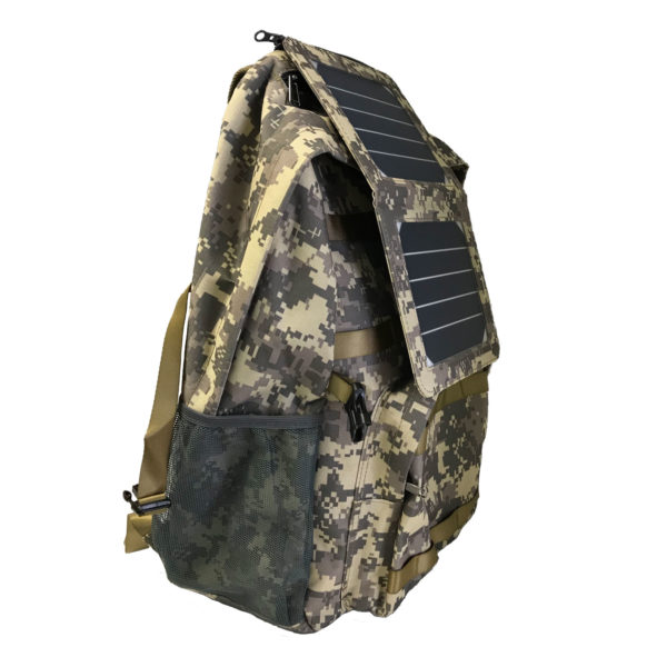 472225839de2 INTELLIGENT TACTICAL SOLAR BACKPACK - PMA USA Supply